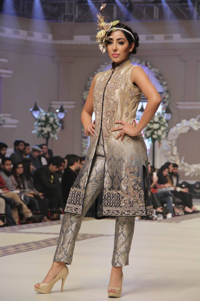 Maria B La Roseraie (The rose garden) Modern Bridal Dresses collection at Telenor Bridal Couture Week 2015 (22)