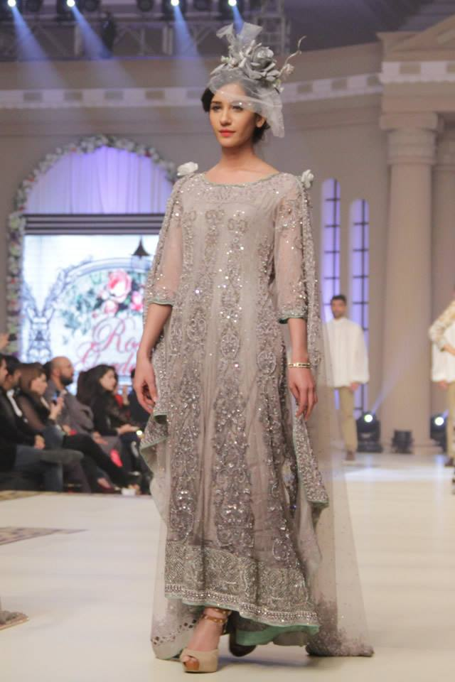 Maria B La Roseraie (The rose garden) Modern Bridal Dresses collection at Telenor Bridal Couture Week 2015 (23)