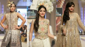 Maria B Modern Bridal Dresses 2015 La Roseraie (Rose garden) Collection at TBCW 2014-15