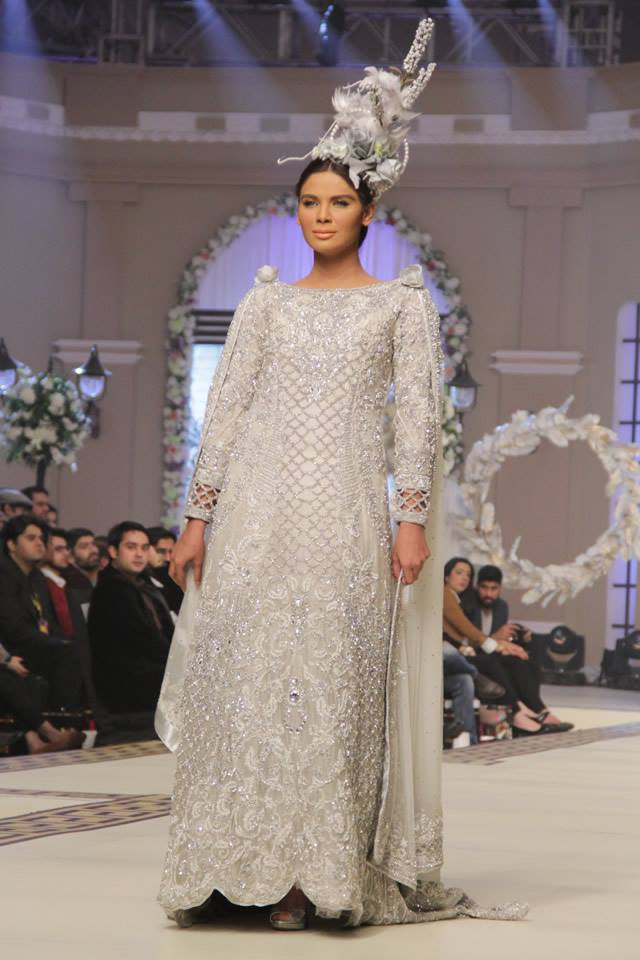 Maria B La Roseraie (The rose garden) Modern Bridal Dresses collection at Telenor Bridal Couture Week 2015 (3)
