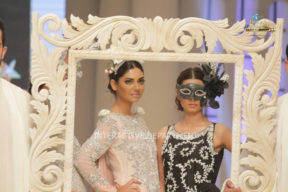 Maria B La Roseraie (The rose garden) Modern Bridal Dresses collection at Telenor Bridal Couture Week 2015 (5)