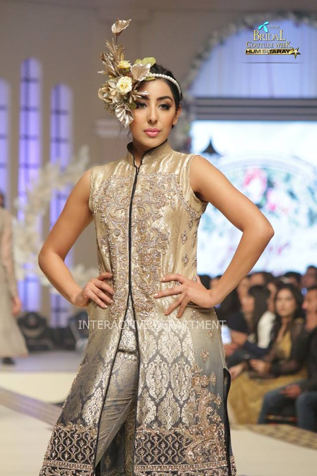 Maria B La Roseraie (The rose garden) Modern Bridal Dresses collection at Telenor Bridal Couture Week 2015 (6)