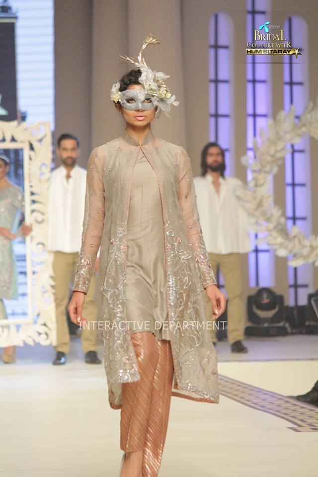 Maria B La Roseraie (The rose garden) Modern Bridal Dresses collection at Telenor Bridal Couture Week 2015 (7)