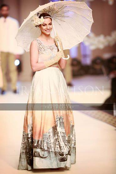 Maria B La Roseraie (The rose garden) Modern Bridal Dresses collection at Telenor Bridal Couture Week 2015 (8)
