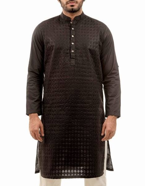 New Menswear Chinyere Kurta Shalwar Collection 2015-2016 - Modern Designs 2015 (12)