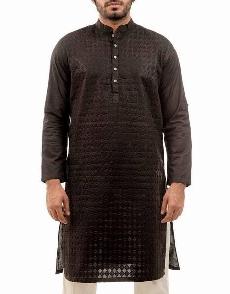 New Menswear Chinyere Kurta Shalwar Collection 2015-2016 - Modern Designs 2015 (12)