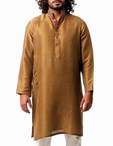 New Menswear Chinyere Kurta Shalwar Collection 2015-2016 - Modern Designs 2015 (16)