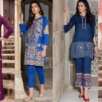 Origins Latest Ladies Winter Dresses Designs 2018-2019 Collection