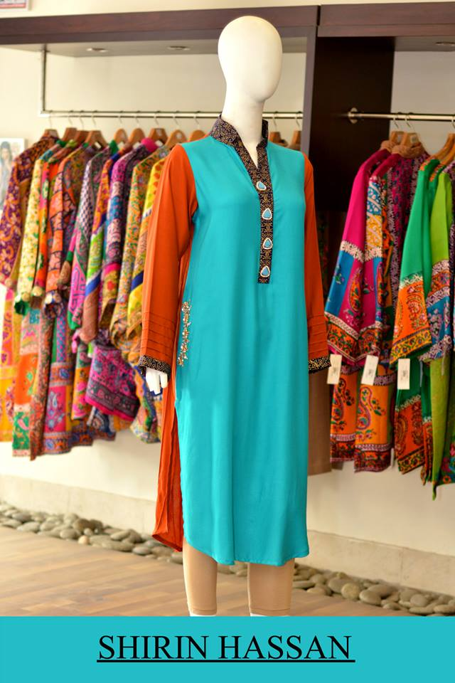 Shirin Hassan Latest Digital Printed Suits and Kurtis Collection for Women 2015-16 (32)