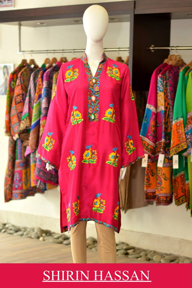 Shirin Hassan Latest Digital Printed Suits and Kurtis Collection for Women 2015-16 (37)