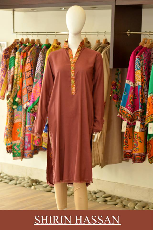 Shirin Hassan Latest Digital Printed Suits and Kurtis Collection for Women 2015-16 (38)