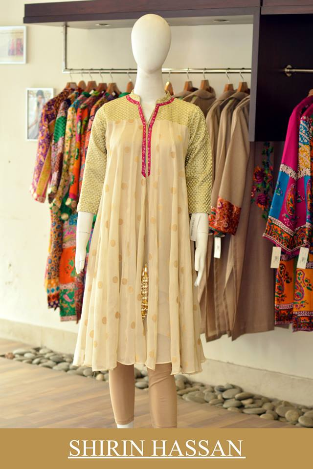 Shirin Hassan Latest Digital Printed Suits and Kurtis Collection for Women 2015-16 (39)