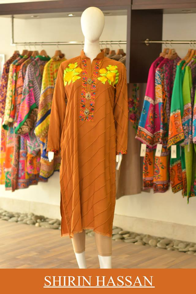 Shirin Hassan Latest Digital Printed Suits and Kurtis Collection for Women 2015-16 (43)