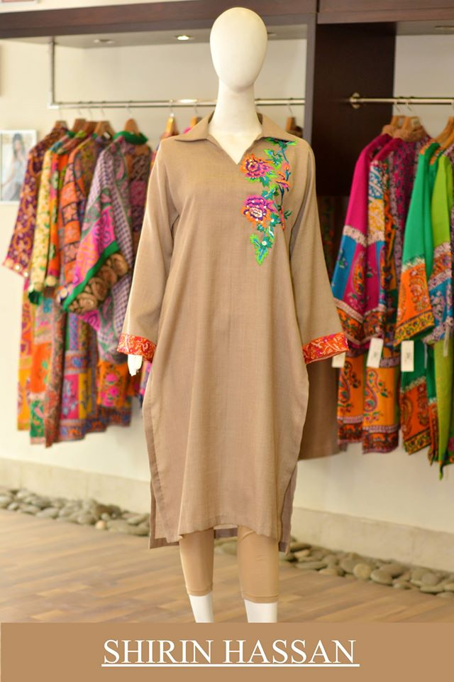 Shirin Hassan Latest Digital Printed Suits and Kurtis Collection for Women 2015-16 (47)