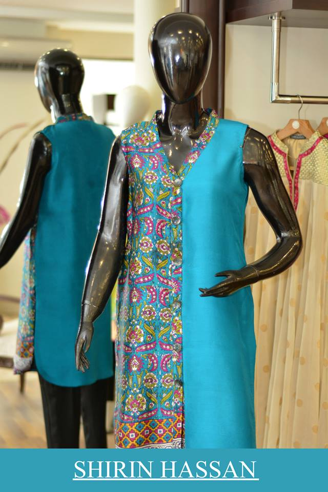 Shirin Hassan Latest Digital Printed Suits and Kurtis Collection for Women 2015-16 (49)
