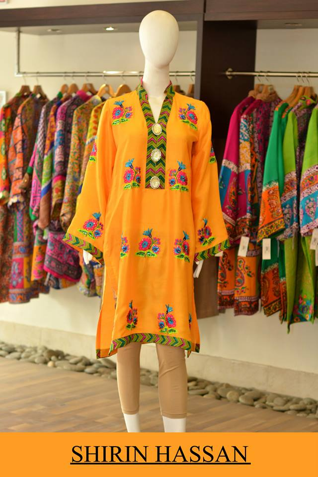 Shirin Hassan Latest Digital Printed Suits and Kurtis Collection for Women 2015-16 (50)