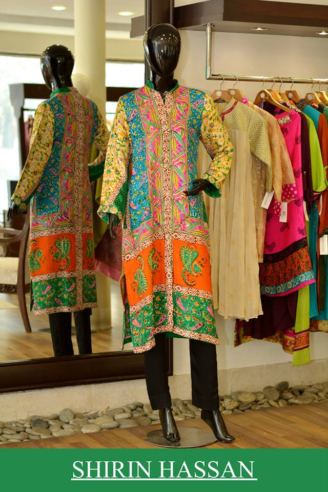 Shirin Hassan Latest Digital Printed Suits and Kurtis Collection for Women 2015-16 (51)