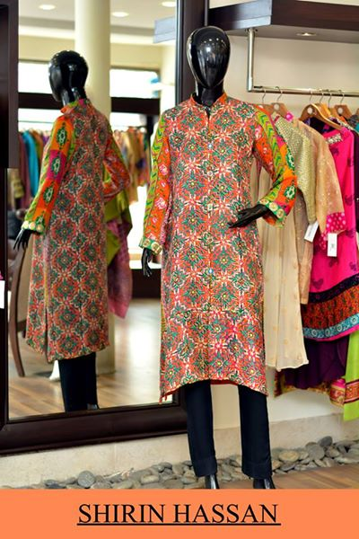 Shirin Hassan Latest Digital Printed Suits and Kurtis Collection for Women 2015-16 (53)