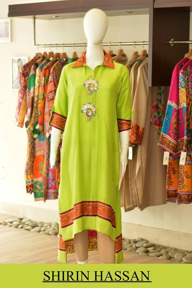 Shirin Hassan Latest Digital Printed Suits and Kurtis Collection for Women 2015-16 (54)