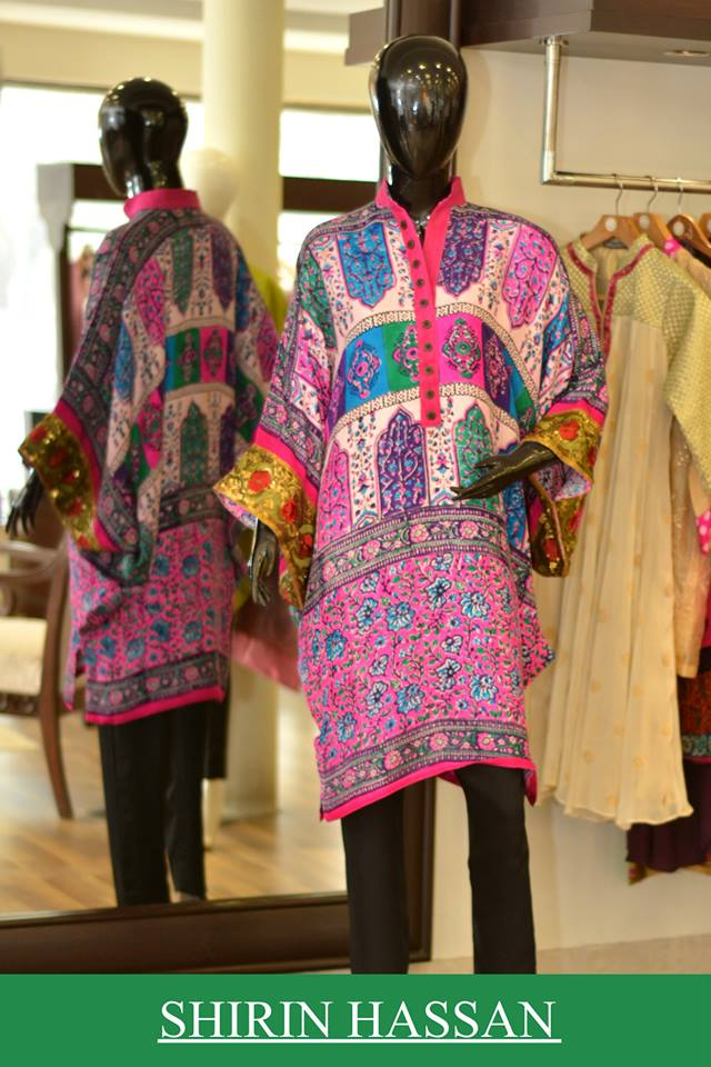 Shirin Hassan Latest Digital Printed Suits and Kurtis Collection for Women 2015-16 (58)