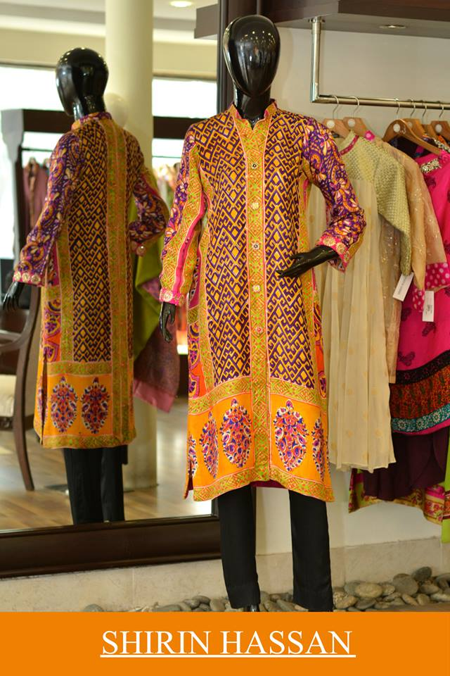 Shirin Hassan Latest Digital Printed Suits and Kurtis Collection for Women 2015-16 (61)