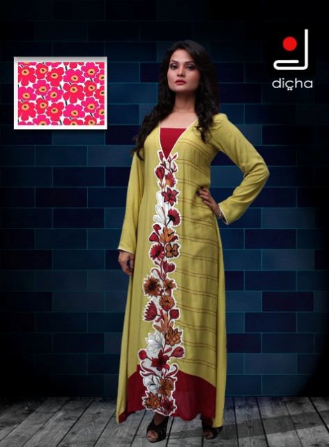Stylish Plaine & V Shaped with Bann Neck Designs for Casual Kurta Dresses (1)