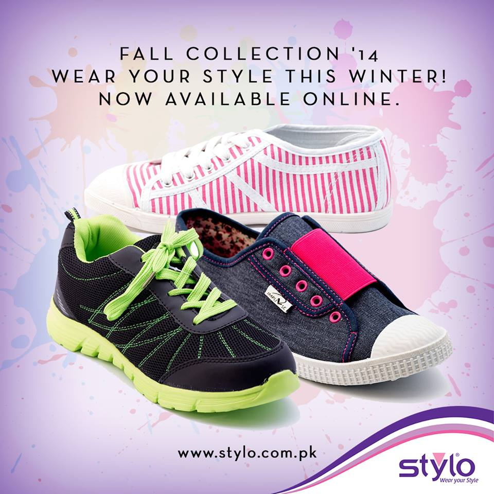 Bridal Shoes Stylo: Stylo Shoes Winter Collection 2015 For Women & Kids With
