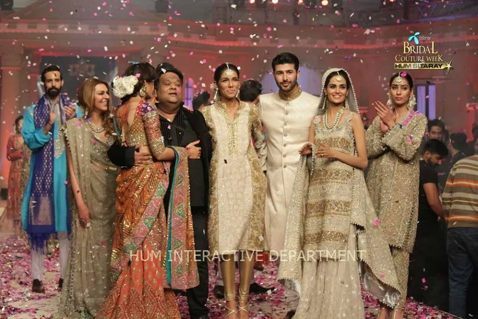 Umer Sayeed Bridal Collection atTelenor Bridal Couture Week 2014-2015 (10)