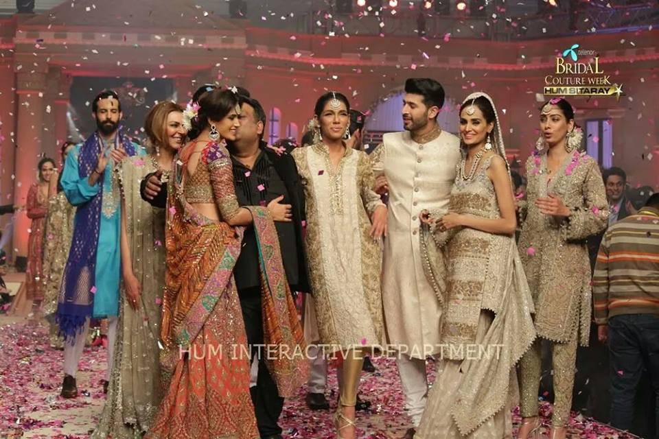 Umer Sayeed Bridal Collection atTelenor Bridal Couture Week 2014-2015    (12)