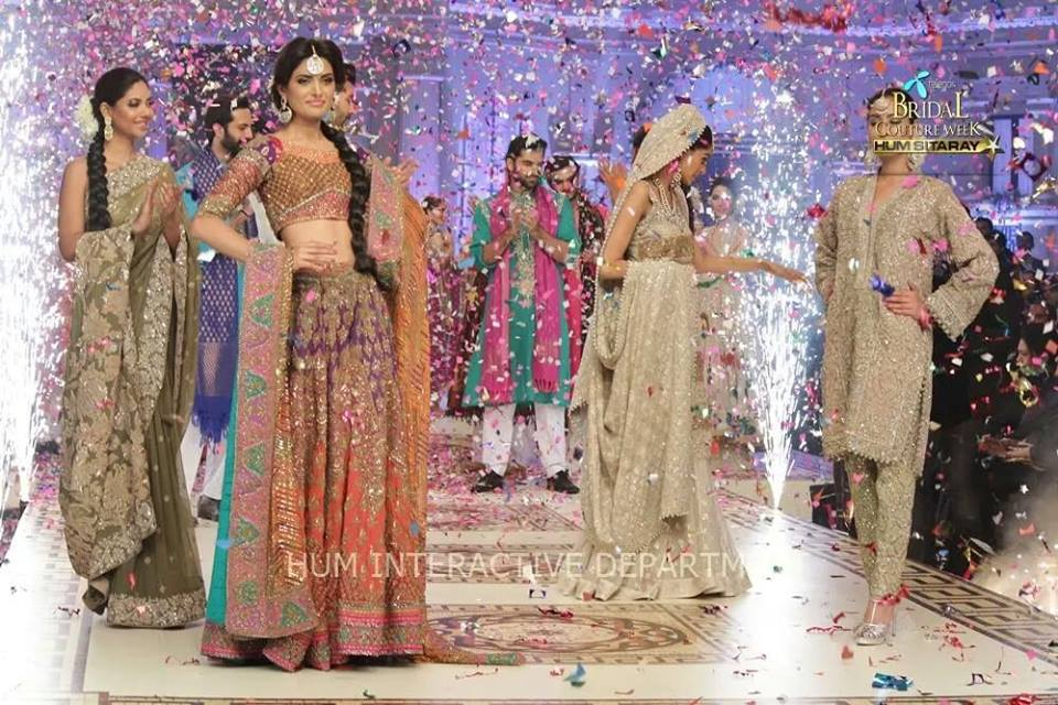 Umer Sayeed Bridal Collection atTelenor Bridal Couture Week 2014-2015 (15)