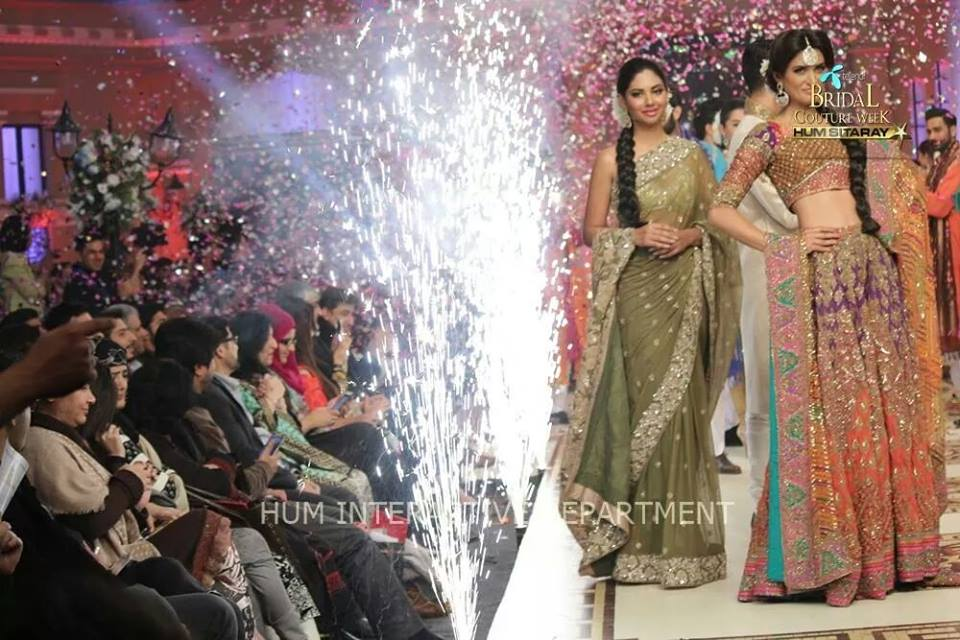 Umer Sayeed Bridal Collection atTelenor Bridal Couture Week 2014-2015 (16)