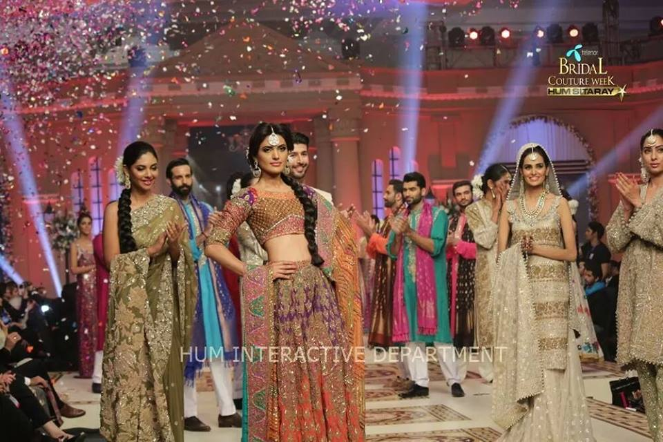 Umer Sayeed Bridal Collection atTelenor Bridal Couture Week 2014-2015    (2)