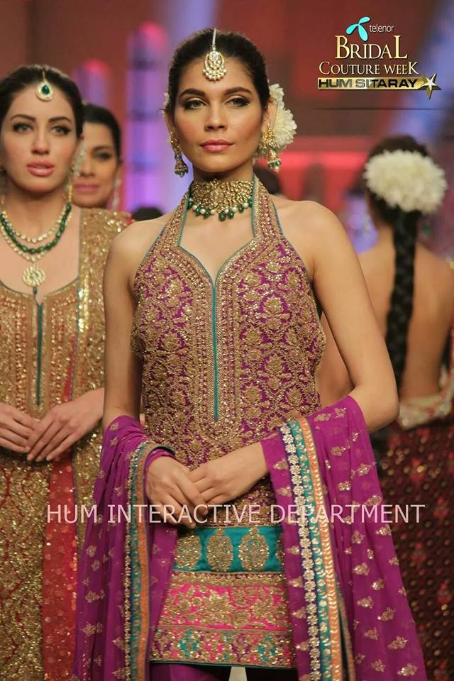 Umer Sayeed Bridal Collection atTelenor Bridal Couture Week 2014-2015 (23)