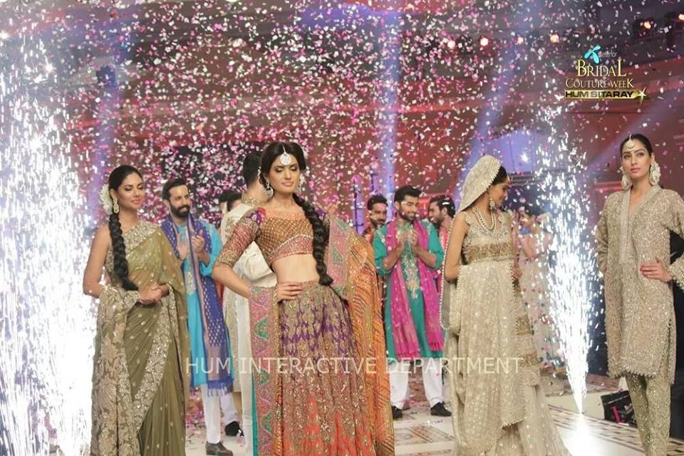 Umer Sayeed Bridal Collection atTelenor Bridal Couture Week 2014-2015    (32)