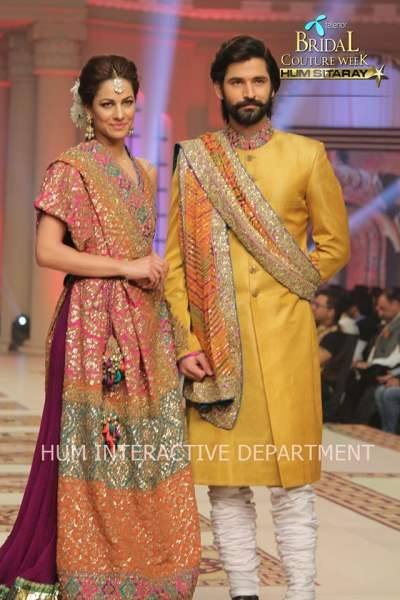Umer Sayeed Bridal Collection atTelenor Bridal Couture Week 2014-2015    (35)