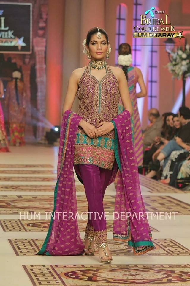 Umer Sayeed Bridal Collection atTelenor Bridal Couture Week 2014-2015 (6)