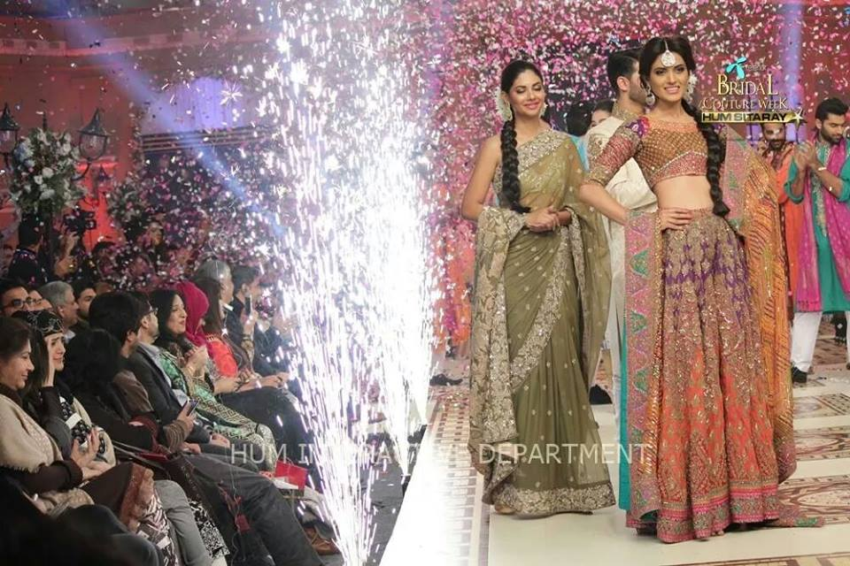 Umer Sayeed Bridal Collection atTelenor Bridal Couture Week 2014-2015    (7)
