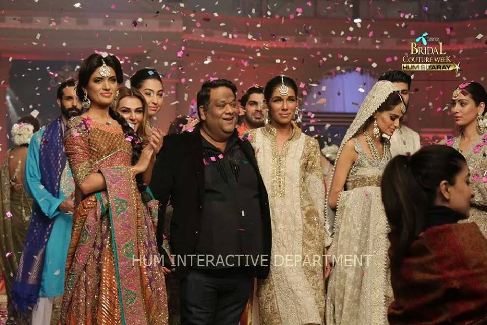 Umer Sayeed Bridal Collection,Telenor Bridal Couture Week 2014-2015  Famous Pakistani Designer Wedding Collections (1)