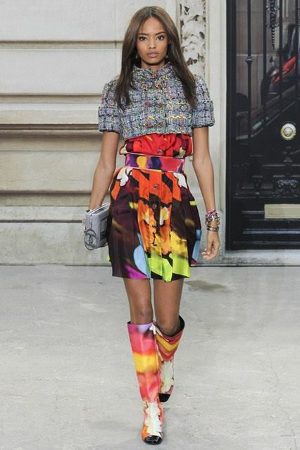 CHANEL Spring-Summer 2015 Haute Couture Fashion Show - Ready To Wear Dresses (1)