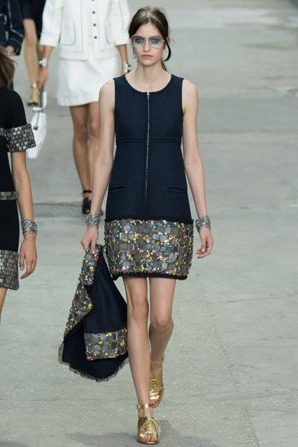 CHANEL Spring-Summer 2015 Haute Couture Fashion Show - Ready To Wear Dresses (17)