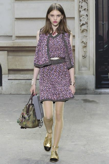CHANEL Spring-Summer 2015 Haute Couture Fashion Show - Ready To Wear Dresses (18)