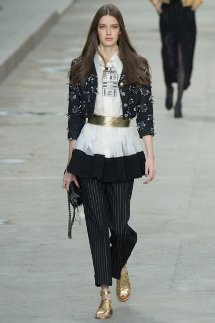 CHANEL Spring-Summer 2015 Haute Couture Fashion Show - Ready To Wear Dresses (21)