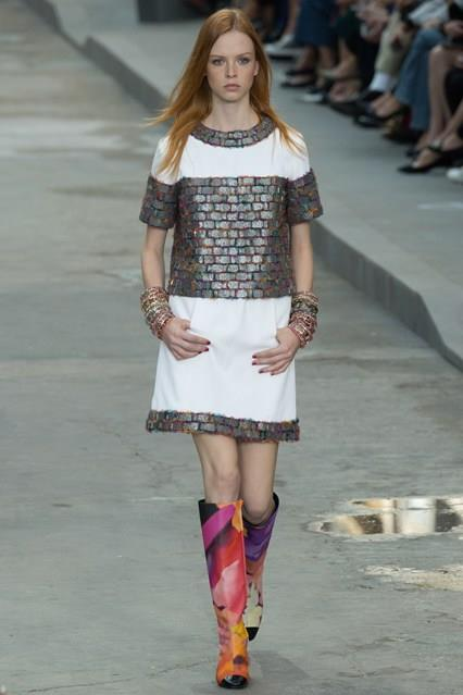 CHANEL Spring-Summer 2015 Haute Couture Fashion Show - Ready To Wear Dresses (23)