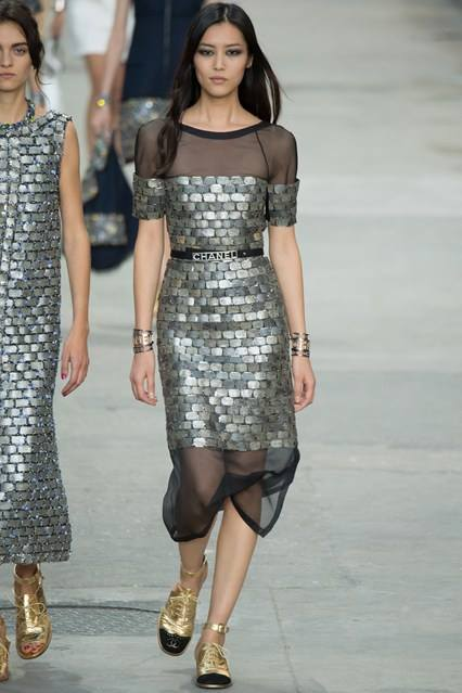 CHANEL Spring-Summer 2015 Haute Couture Fashion Show - Ready To Wear Dresses (30)