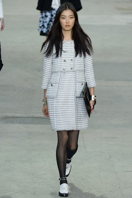 CHANEL Spring-Summer 2015 Haute Couture Fashion Show - Ready To Wear Dresses (8)