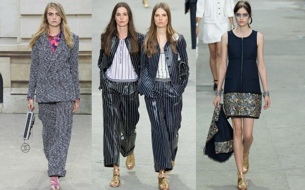 Chanel Spring Summer Dresses Collection 2015