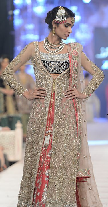 0a4643f761c1 Latest Collection of Asian Designer Front Open Double Shirt Dress Designs  2015-2016 (4)