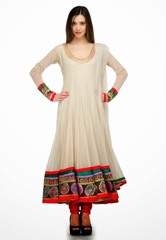 Latest Collection of Umbrella Dresses & Frocks Designs 2015-2016 (13)