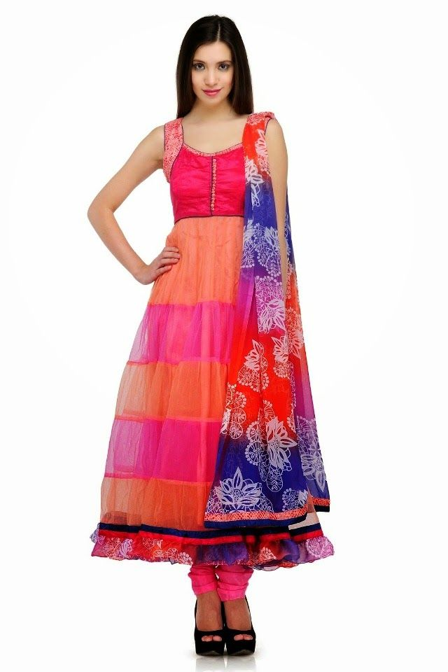 Latest Collection of Umbrella Dresses & Frocks Designs 2015-2016 (14)