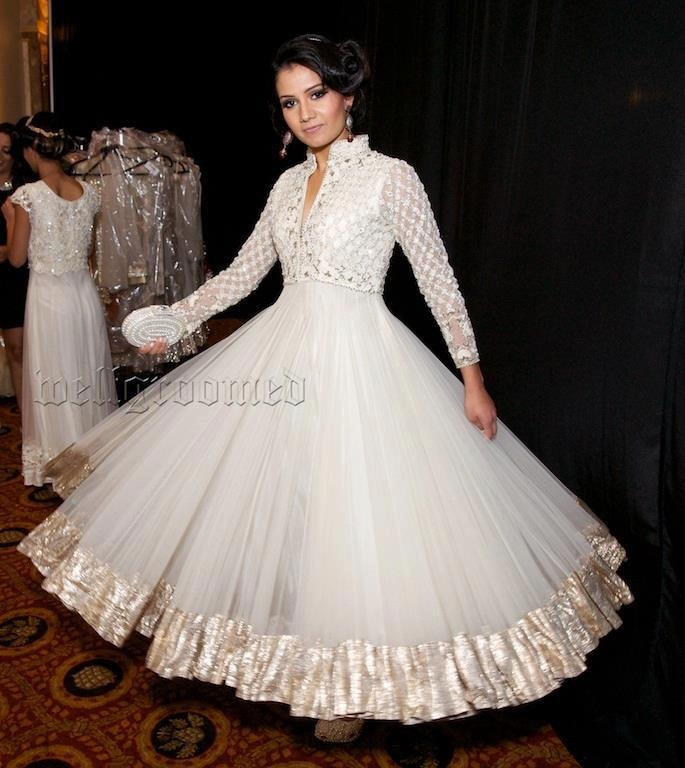 Latest Collection of Umbrella Dresses & Frocks Designs 2015-2016 (15)
